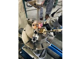 金屬管件與法蘭焊接(填料焊)