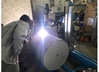 金屬桶槽自動焊接(填料焊)